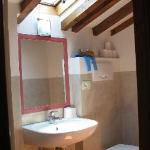 Our attic room toilet and bathroom