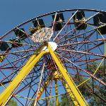 Funfair wheel
