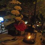 Fiori - Tavolo in terrazza