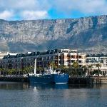 View of Cape Grace with Table Mountain beyond