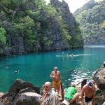 Kayangan Lake, cleanest lake in the Philippines