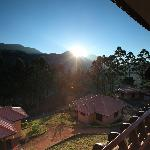 Morning sunrise at Aranyaka Resorts