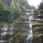 Hector Falls located east side of Seneca Lake. Can be seen from the road