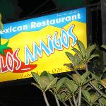 Eat in or out at Los Amigos