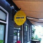 restaurant Marius in The Barentzstraat