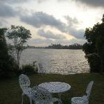 View of the Bentota River from the garden