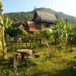 The traditional Thai house available for rent