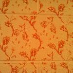sweet vintage stenciled walls!