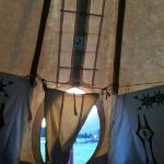 great views from the teepee