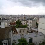 Montmartre und Paris