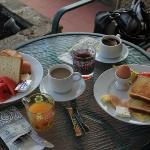Breakfast in July 2012
