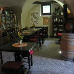 The winery of the Locanda