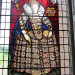 Elizabeth I stained glass