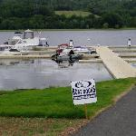 Excellent dock and gas bar