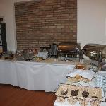 New for 2012 - The fabulous Buffet Style Breakfast.