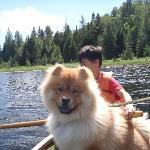 Enjoying Domaine Summum private lake