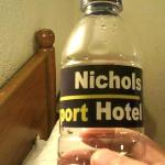 """ purified water"" 30 pesos"