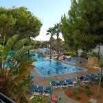 Panoramica de piscinas