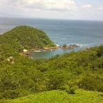 view from the other side of  San Juan del Sur...Paradise Bay.