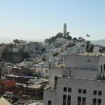Coit tower from the room