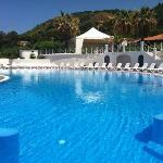 piscina lato mare