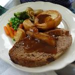 llanfabon inn: thick cut beef desperate dan style