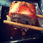 strawberry sushi roll