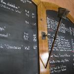 Un seul menu le Midi mais une carte très complète pour le soir