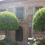 Courtyard between Belles Artes and Julio Romero de Torres