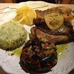 Saint Pierre accompagné de légumes et de riz