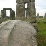 Pat Shelley's Tour of Stonehenge -- one of the trilithons
