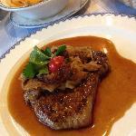 Lecker Steak - schon rare