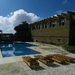 La piscine, un bel espace de détente