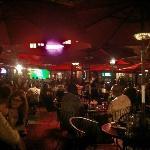 Harlem Tavern on a Saturday summer night.
