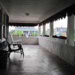 great porch for a cup of coffee