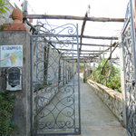 Gateway to Il Grappolo from Anacapri