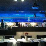 Cross deli restaurant bar area