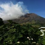 Volcán Turrialba...despegado..