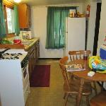 Kitchen of our cottage