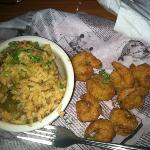 shrimp and dirty rice