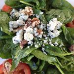 spinach salad- to die for!