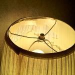 lamp falling apart in my room
