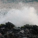 Waves against rocks - the sound is amazing!