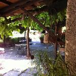 Lucrezis's courtyard