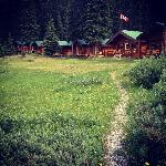 Shadow Lake Lodge campsite - July, 2012