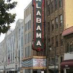 sign for the Alabama Theatre