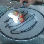 Chocolate&cream&strawberries