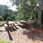 Seashells Yallingup BBQ area