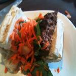 1/2 of the tamarind burger