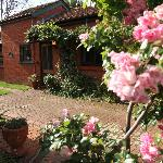 Paprika Spa Cottage, nestled in the grounds of Buxton Manor